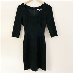 Anthro Plenty by Tracy Reese Black Sweater Dress
